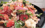 Traditional dish of Mugello - Panzanella