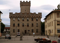 The square of Firenzuola