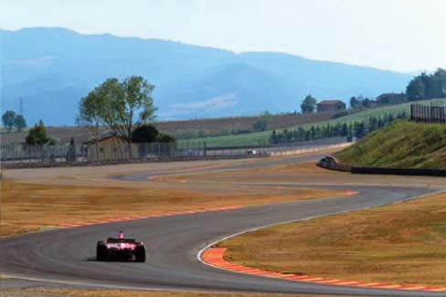 Turns 13 and 14 of 15 - Biondetti 1 and 2 - Mugello Circuit Scarperia