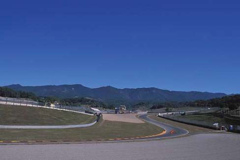 Turn 6 and 7 of 15 - Casanova / Savelli - Mugello Circuit Scarperia