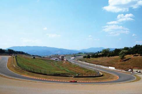 Turn 1 of 15 - San Donato - Mugello Circuit Scarperia