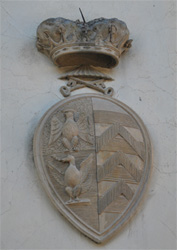 A Crest of the Castle of Cafaggiolo, Barcerino di Mugello