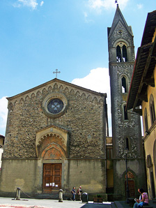Church of the Saints Filippo and Jacopo and the Provost's residence, Mugello