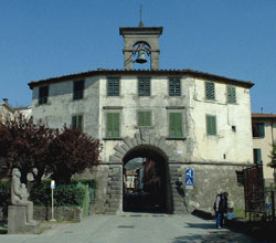 The gate Porta Bolognese